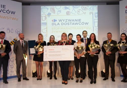 Nagroda dla OCTIM od Carrefour Polska za przeciwdziałanie marnowaniu żywności