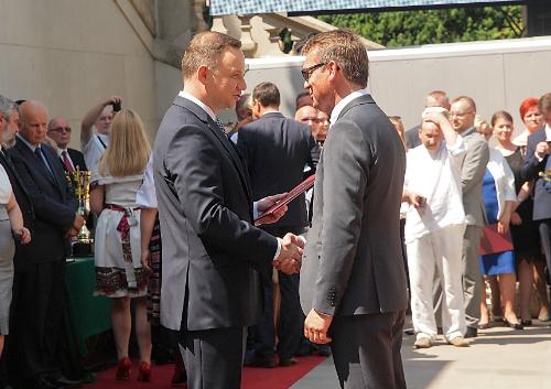 Octim odebrał nagrodę z rąk Prezydenta RP!